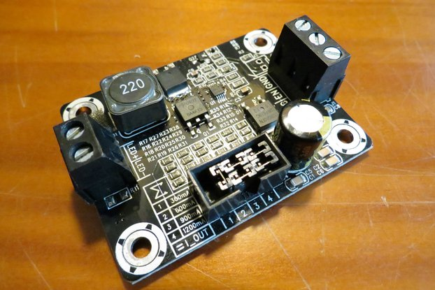 LED driver 3A power dimmer 0 to 100W PWM analog in