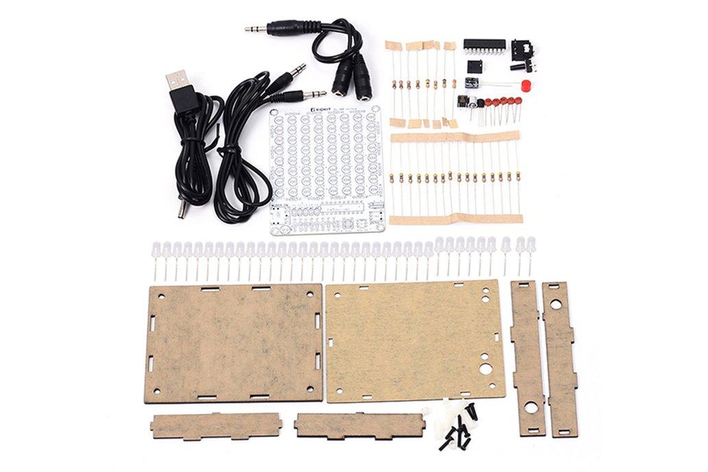 DIY Audio Spectrum 8x8 Level Indicator Kits(12438) 2