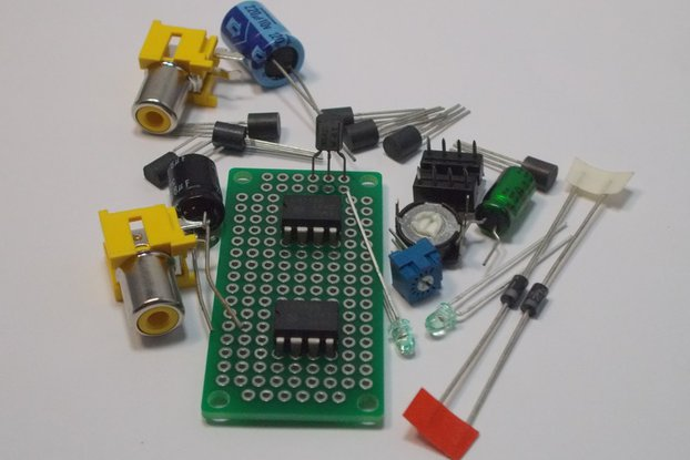 LM311 Voltage Comparator Design Kit (#1365)