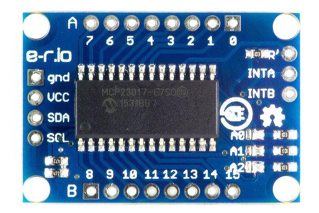 I/O expander MCP23017