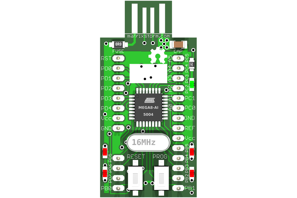 tinyUSBboard - Rev. 4 SMT  kit  1