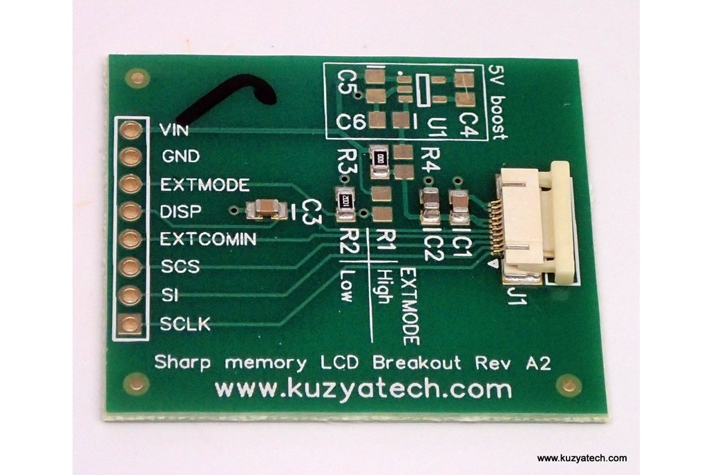 Sharp Memory LCD breakout A2 1