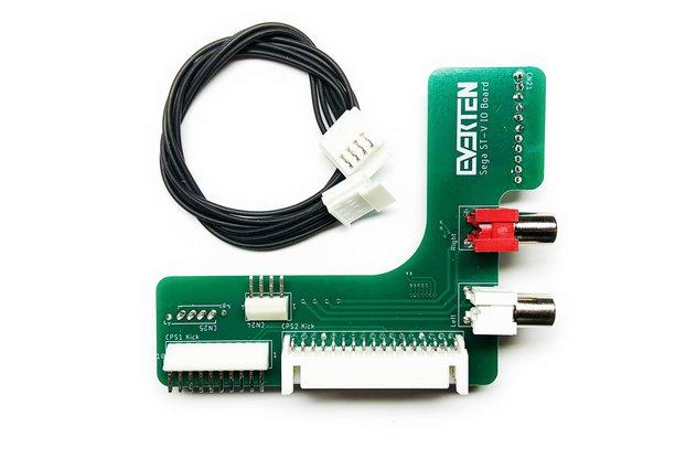 ST-V IO Board Stereo + CPS2 + CPS1 Kick [Sega]