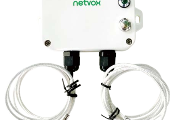 Netvox Wireless 2-Gang Thermocouple Sensor R718CK2