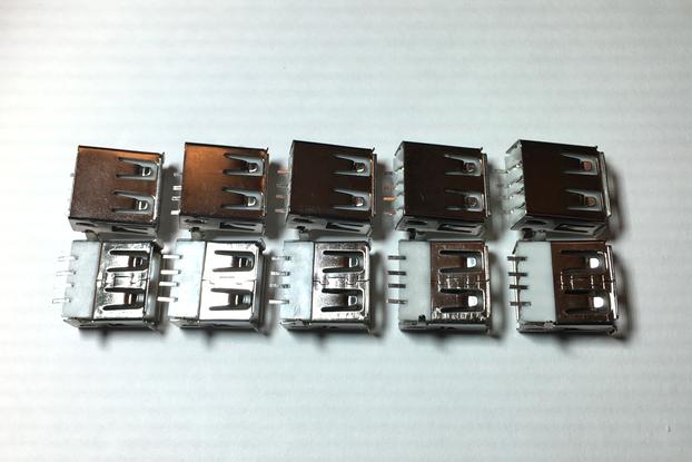 Through Hole USB Type A Connector