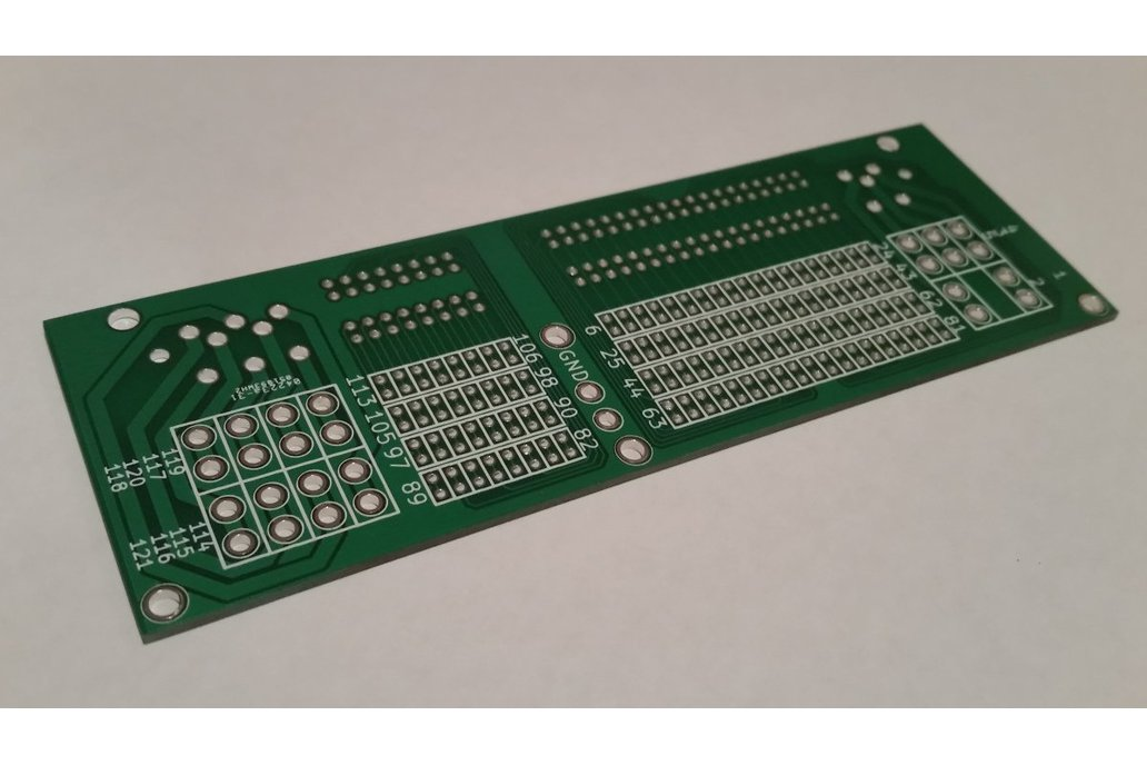 ECU 121p connector - bare PCB 1