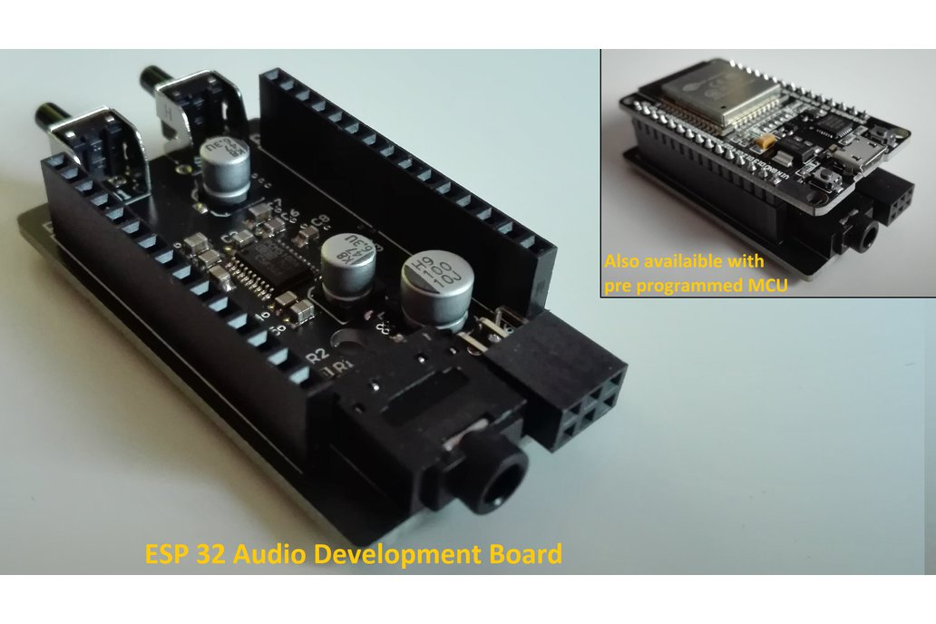 ESP 32 Audio Development Board (e.g. Bluetooth) 1