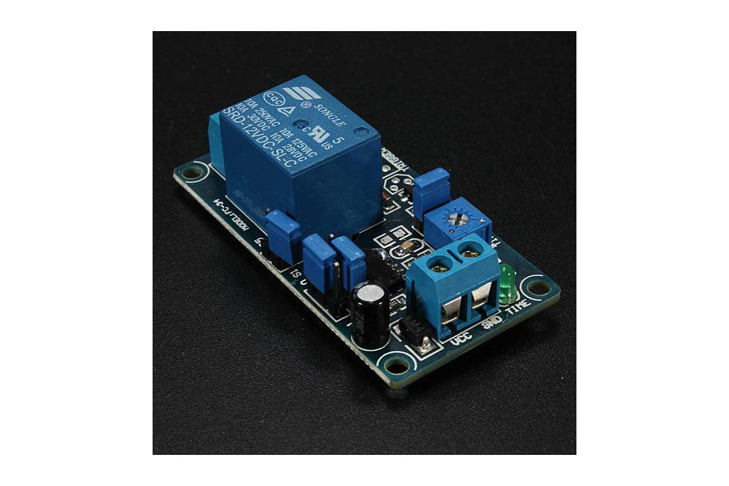12V Power-ON Delay Relay Circuit  3