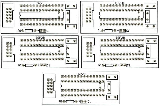 5PCS ATmega 28 Pin Breakout Boards Free Shipping