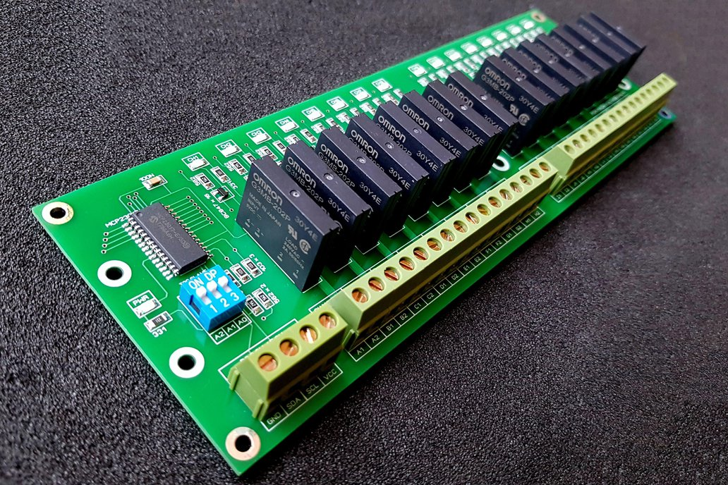 16 Channel I2C Solid State Relay Module 1