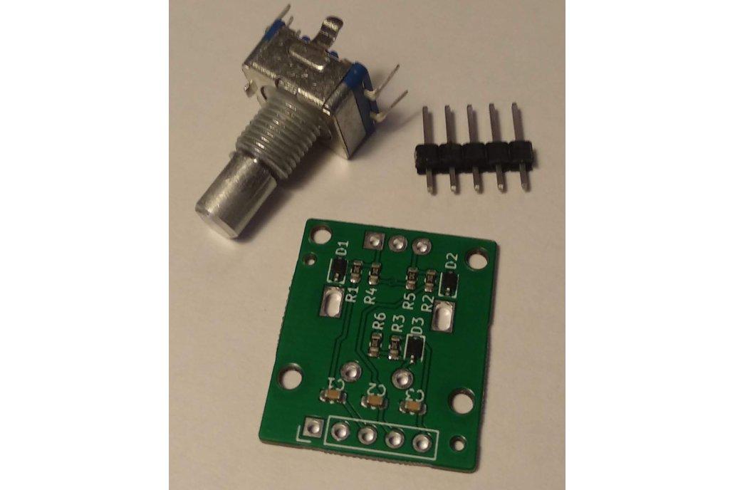 Rotary Encoder w. Debounce Circuitry 1