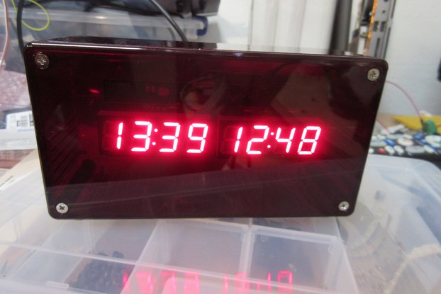 High Accuracy NTP+Wifi Based Clock
