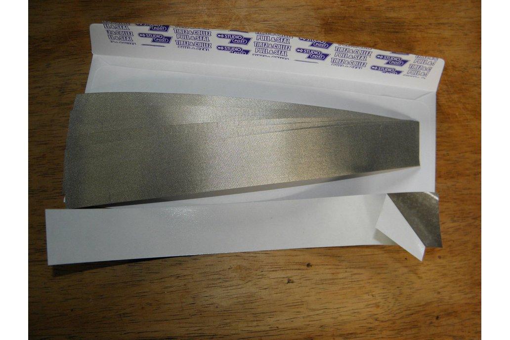 Self Adhesive EMI/RF Woven Shielding Strips 1