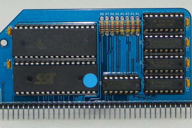 512k ROM 512k RAM RomWBW Module for RC2014