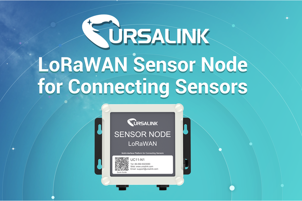 LoRaWAN Sensor Node for Connecting Sensors 1