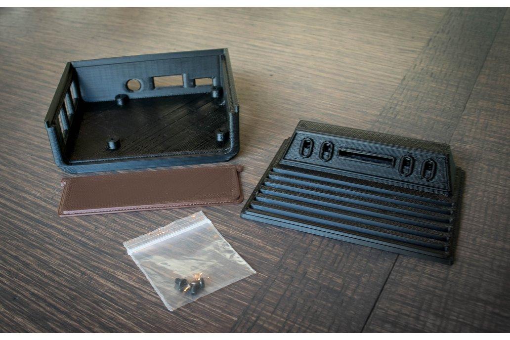 3D Printed Atari 2600 Case for Raspberry Pi 4