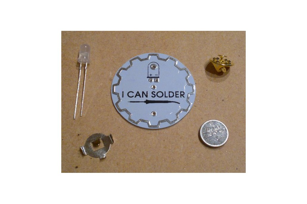 I Can Solder Badge v1 2