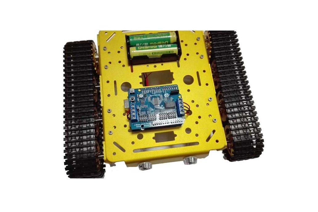 Arduino wifi Metal T200 Crawler Tank 5