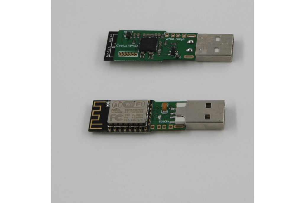 Cactus WHID: WiFi HID Injector USB Rubberducky 5