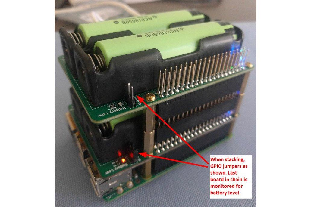 Pi-UpTime UPS - UPS for a Raspberry Pi 7