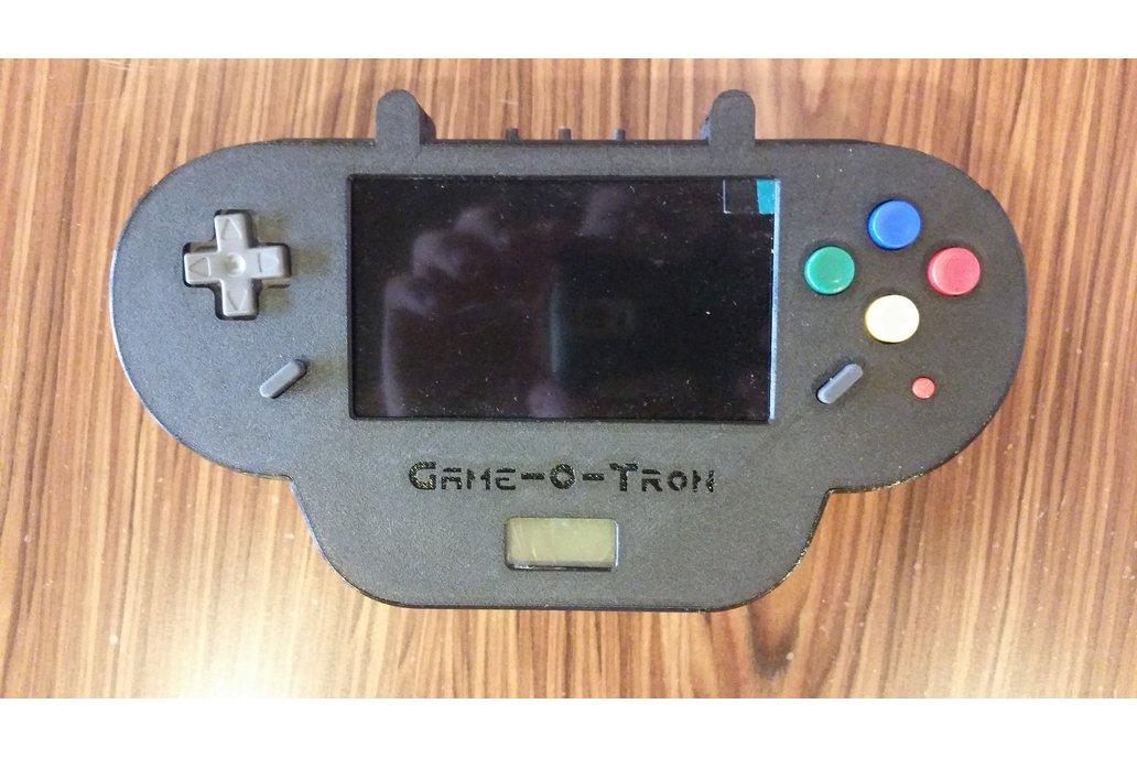 Game-O-Tron: Raspberry Pi Retro Game System 4