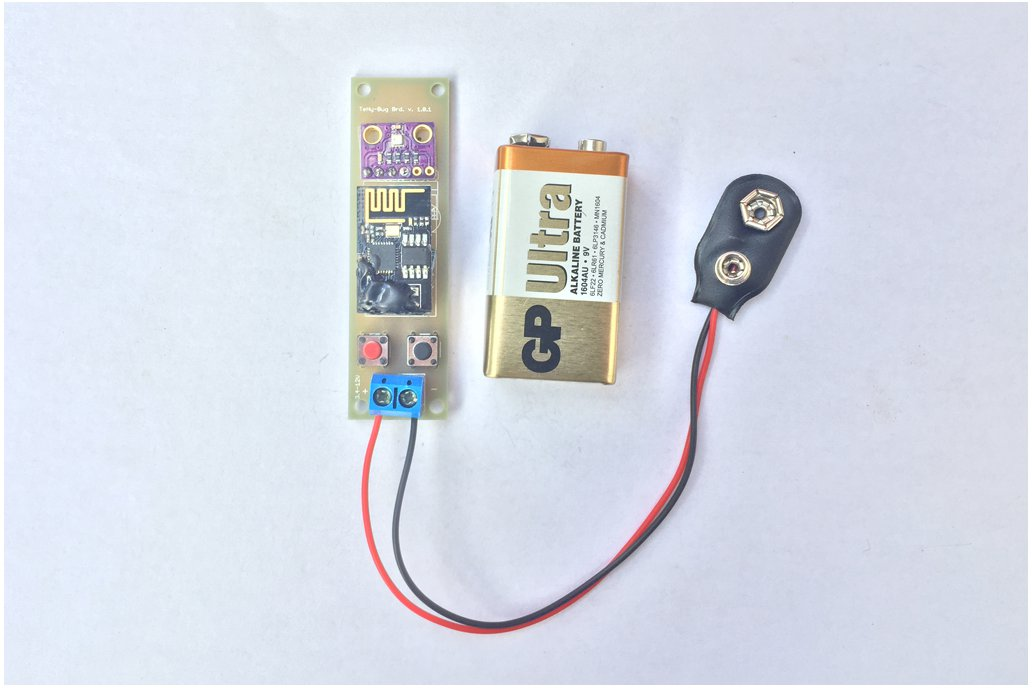 Low Power Temp/Humi and Pressure WiFi tracker s5 1