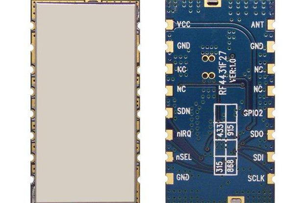 RF4432F27 500mW wireless transceiver module