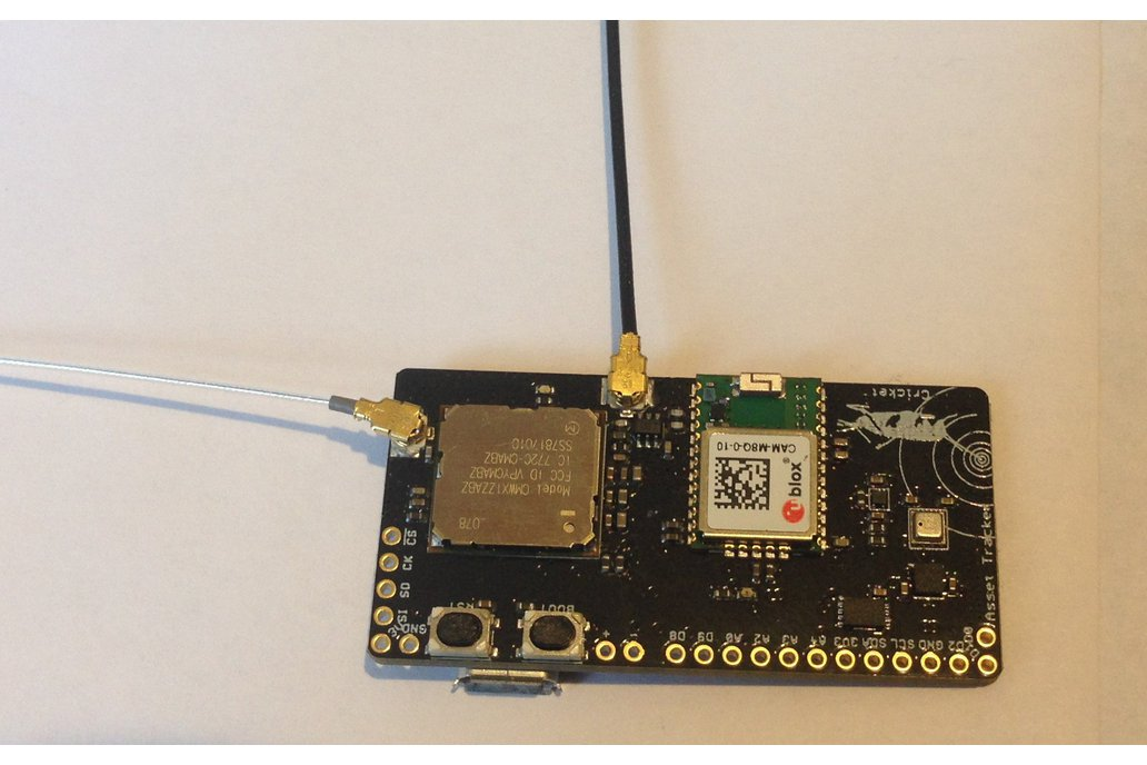 Cricket LoRaWAN/GNSS Asset Tracker 3