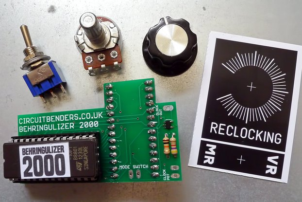 Behringulizer 2000 DIY kit - new FX and reclocking