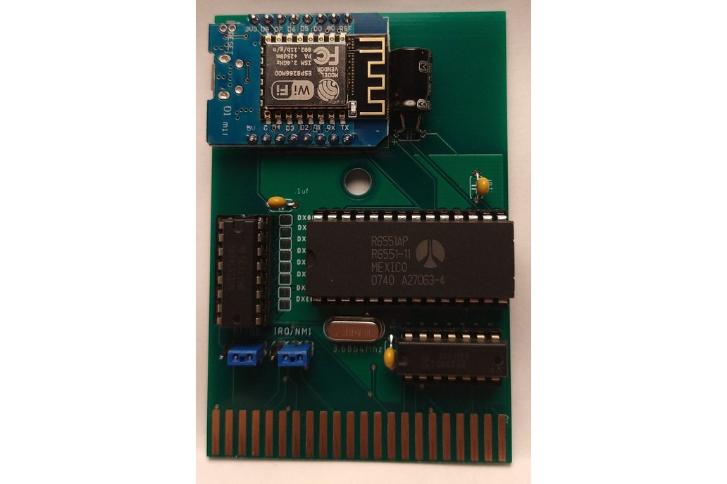Link232-Wifi,  Swiftlink Compatible WIFI for C64 1