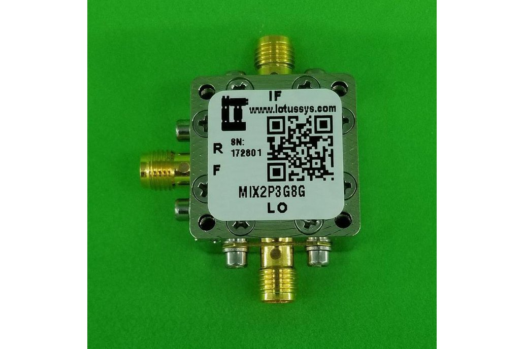 Frequency Mixer 2.3G - 8GHz RF (Passive) 1