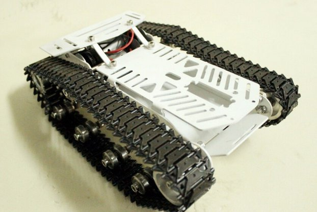 Large Metal RC Car Chassis CS600