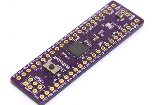 AVR64DA48 Development Board