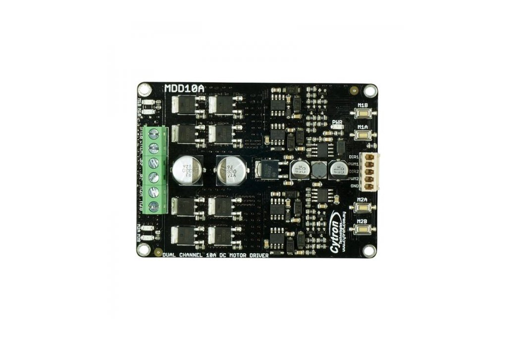 Dual Channel 10A DC Motor Driver 2