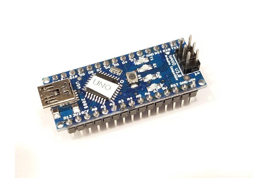 Arduino Nano with UNO Bootloader and Grbl CoreXY