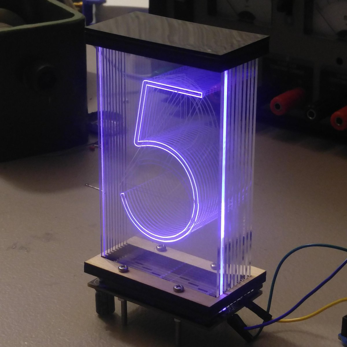 Lixie An Led Alternative To The Nixie Tube From Labs On Tindie Mosfet Power Amplifier Schematics