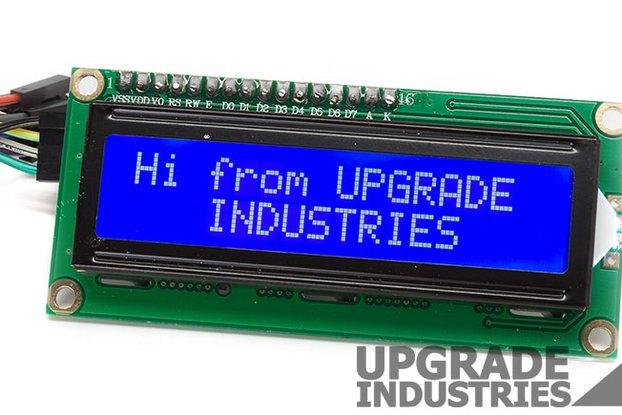 I2C 16x2 LCD Display