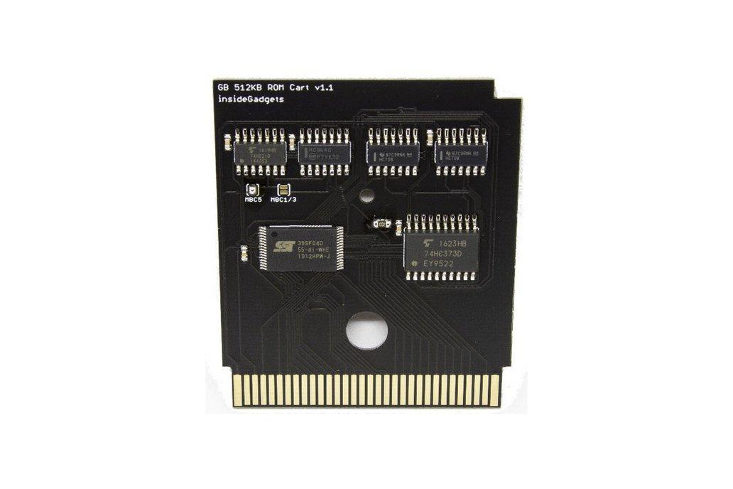 Gameboy 512KB Logic Based Flash Cart 1