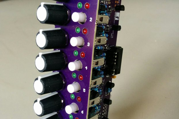 8 Step Expansion for Sequencer (Eurorack PCB Set)