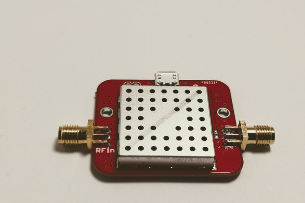 FM Notch Filter with Low Noise Amplifier LNA 4 GHz