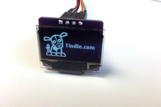 "0.96"" OLED i2c Display (3.3V only)"