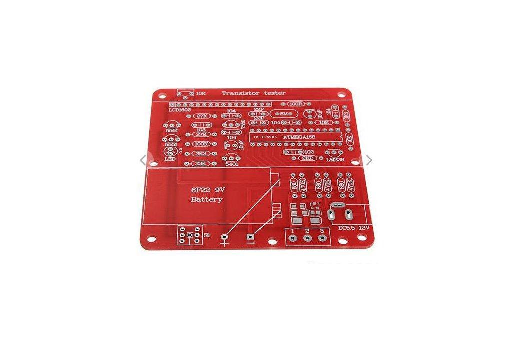 DIY Meter Tester Kit For Capacitance ESR Inductance Resistor NPN PNP Mosfet M168 2