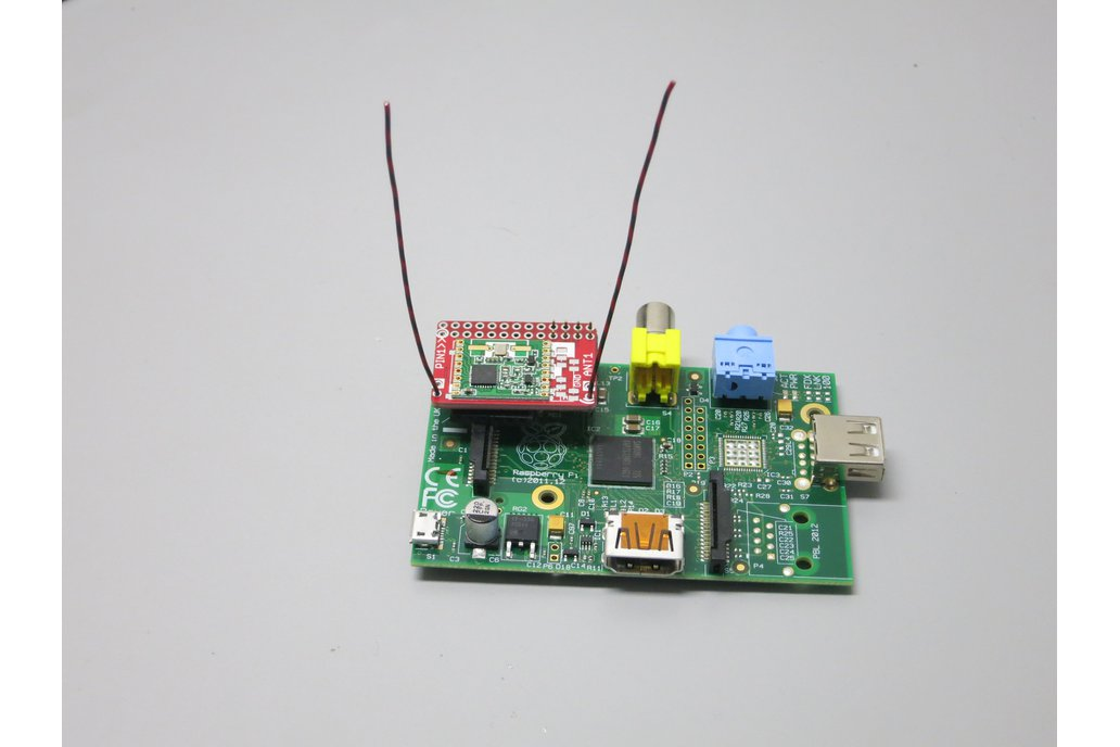 RFM69 Radio HAT for Raspberry Pi 1