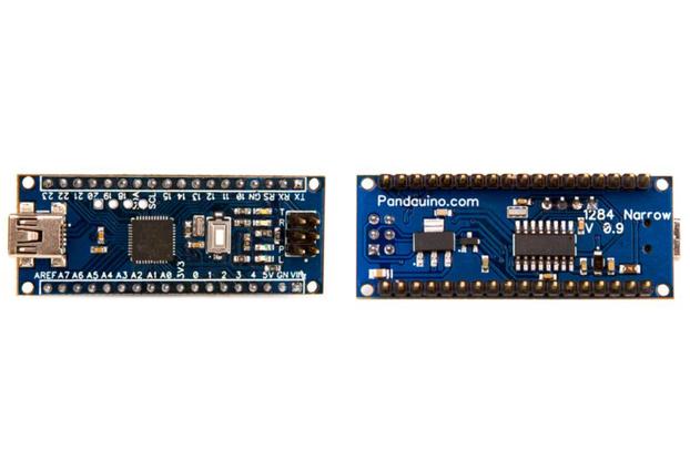 1284 Narrow Atmega1284 Arduino compatible board
