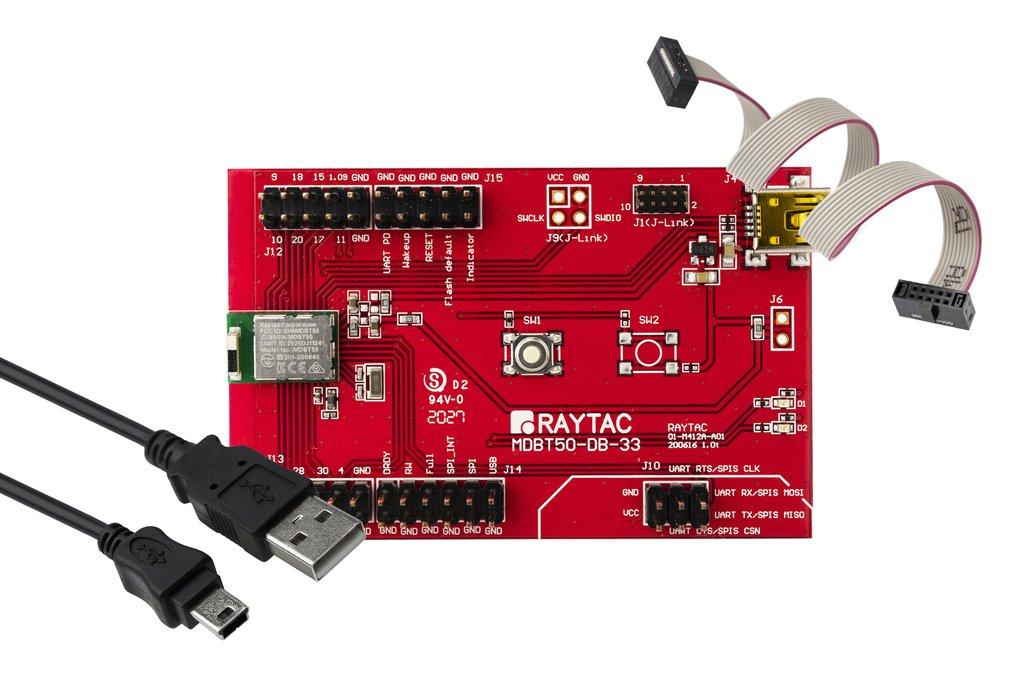 nRF52833 Module (18GPIO) EvKit Board BT5.2 MDBT50 1