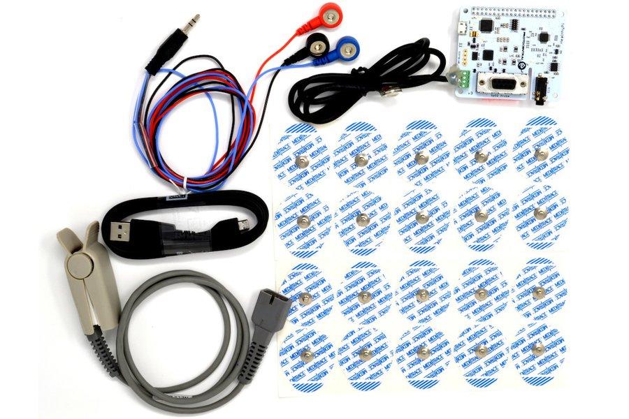 HealthyPi v3 HAT Kit for Raspberry Pi (HAT Kit)