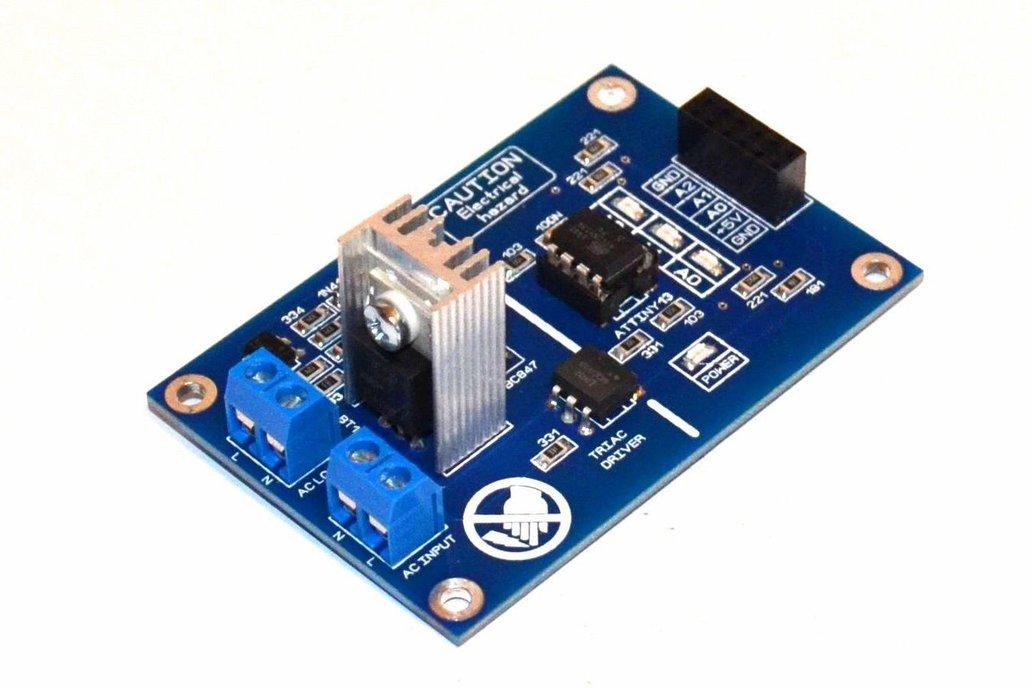 3BIT AC Dimmer for Arduino, Raspberry or MCU, 50HZ 1