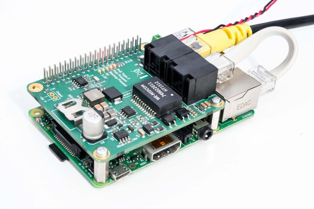 PoE (Power over Ethernet) for Raspberry Pi 2,3,3+ 1