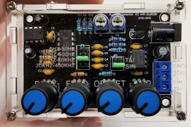 ICL8038 Function/Signal Generator ASSEMBLED & TEST