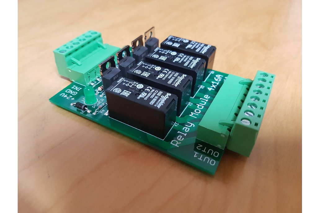 Relay Extension 4x16A (for DIN Rail mounting) 1